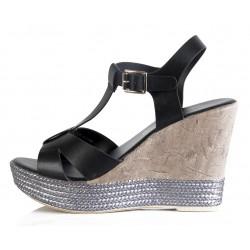 Sandales compensées JKF77
