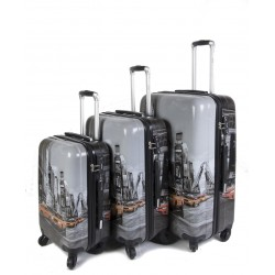 "SET 3 BAGAGES (AISIE3) ""TAXI"""