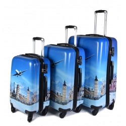 "SET 3 BAGAGES (AISIE3) ""LONDRES"""