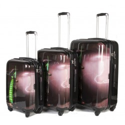 "SET 3 BAGAGES (AISIE3) ""DUBAI"""