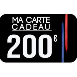Carte Cadeau 200 Euros