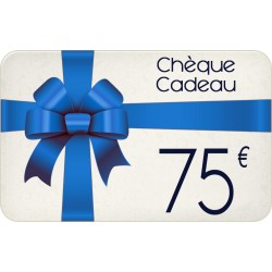 Chèque cadeau 75€